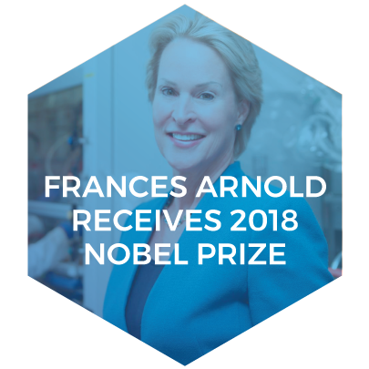 Congratulations Frances Arnold on receiving the Nobel Prize for work on directed evolution.